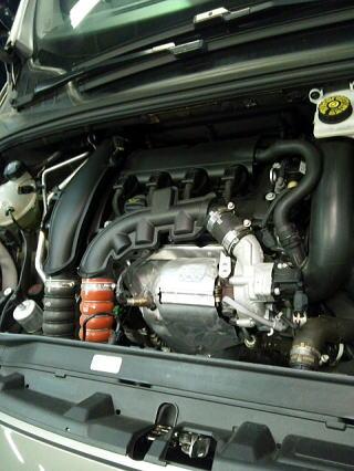プジョー308ターボエンジン
