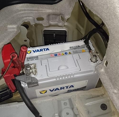 VARTAバッテリー